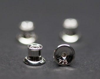 3.6mmx10mm Sterling Silver Tubes Connectors AG925 Jewelry Making Supplies Beads Connectors Modern Jewelry Components Sterling Components