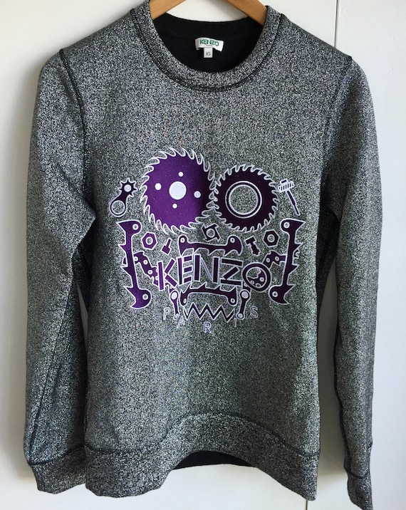 Vintage Kenzo embroidrery sweatshirt