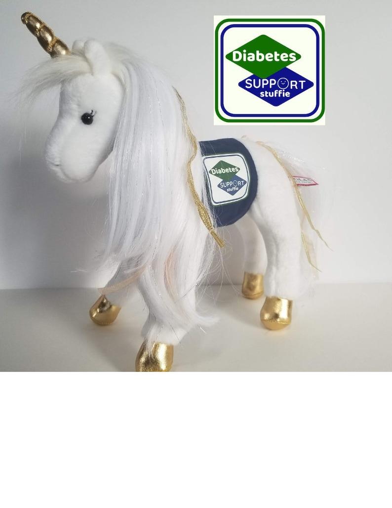 My Diabetes Unicorn Support Stuffie