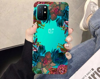 OnePlus 9 case OnePlus 8 flowers succulents One Plus 8t OnePlus 9 Pro One Plus 8 pro case One Plus 7 pro OnePlus 8 5G OnePlus 7 OnePlus Nord