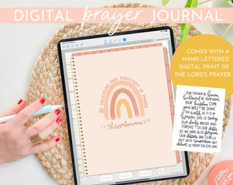 Hustle Sanely® Digital Prayer Journal | Daily Undated Journal