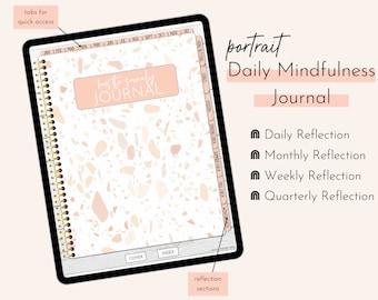 Daily Mindfulness Journal | Hustle Sanely® Digital Journal