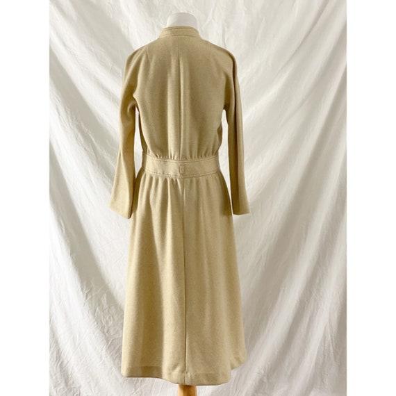 1970's Tan Shirt Dress by Kiva - image 5