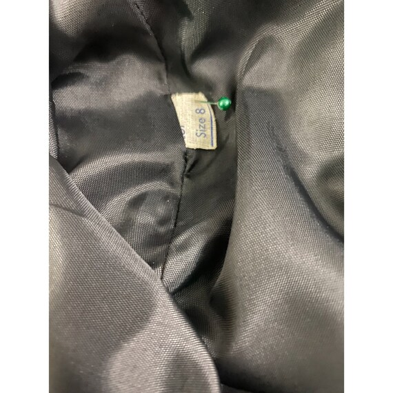 1980's Black Corduroy Skirt By Ralph Lauren - image 6