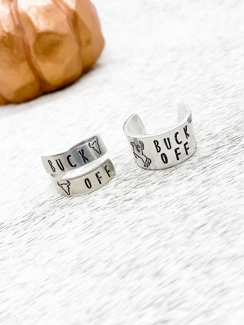 Country Hippie Western Gypsy Buck Off Rearing Horse Cowboy Wrap Ring Thumb Ring Gift Christmas Southern Birthday Boho Cowgirl