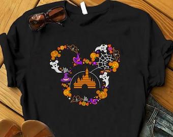 Disney Halloween Shirt, Cute Disney Halloween Shirt, Women Disney Halloween Shirt , Mickeys Not So Scary Halloween, Disney Trick or Treat