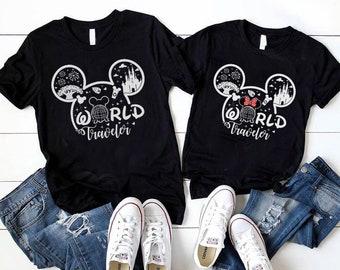World Traveler Disney Shirt, Epcot World Traveler Shirt, Disney Family Matching Shirt, Vacation Shirt, Disney Epcot Shirt, Disney Group Tee