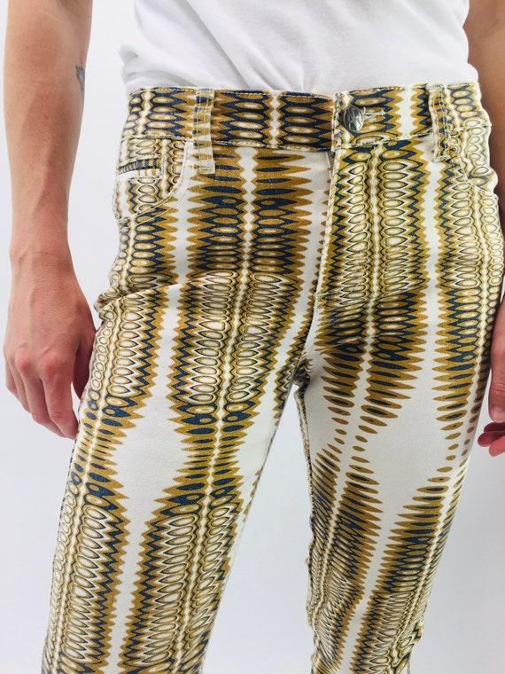 Printed Jeans - image 1
