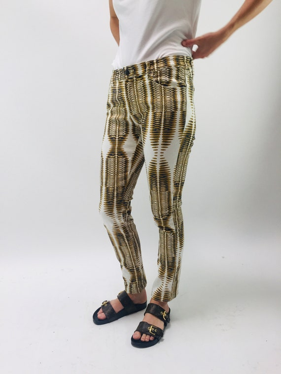 Printed Jeans - image 4
