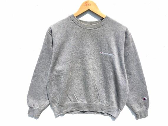 Champion Sweatshirt Grey Size Medium, Champion Swe