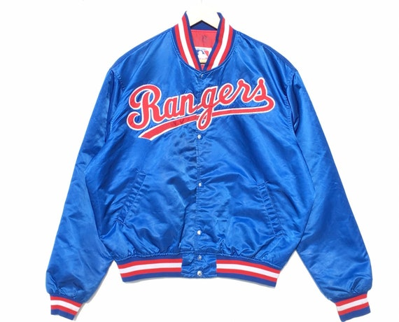 Vintage New York Rangers NHL Starter Satin Bomber