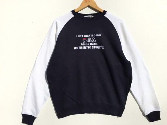 Vintage Fila Sweatshirt Size Small, Vintage Clothi