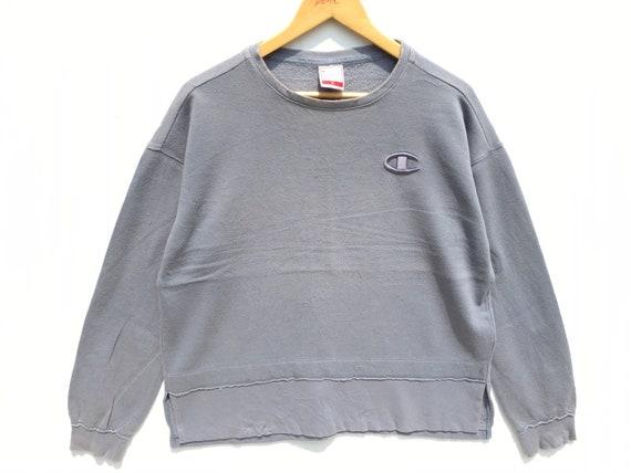 Champion Sweatshirt Grey Size XL, Champion Sweatsh