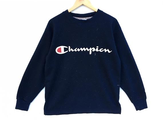 Champion Big Logo Spell Out Sweatshirt, Champion S