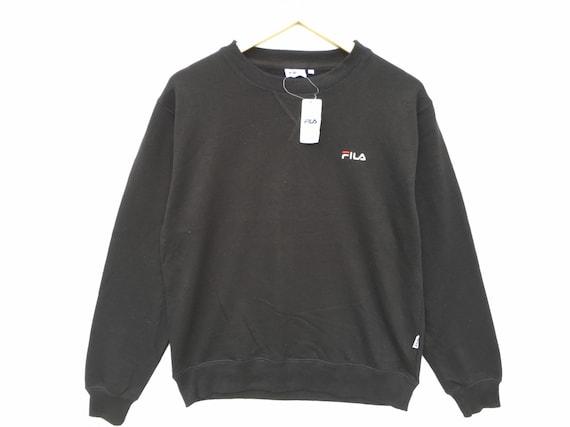 Deadstock Fila Sweatshirt Size Medium, Vintage Clo