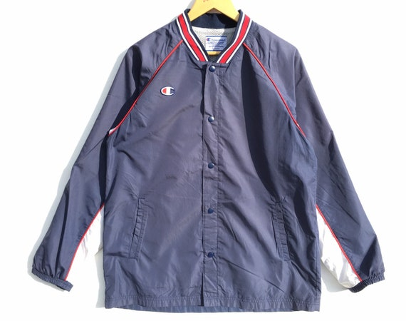 Champion Coach Jacket Size Large, Vintage Champion