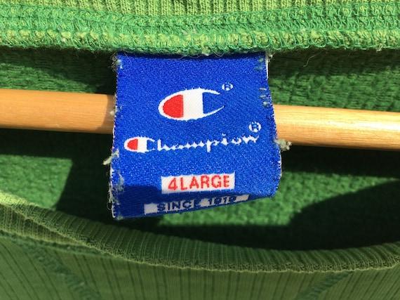 Champion Crewneck Sweatshirt Green Size XXXL, Cha… - image 2