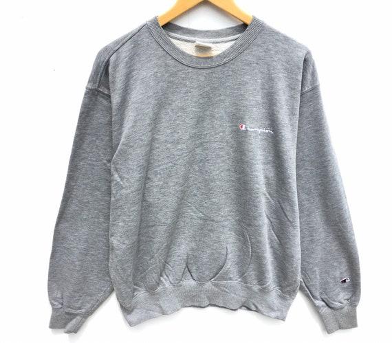 Champion Sweatshirt Grey Size XL, Vintage Champion