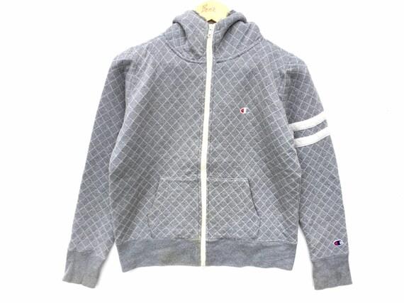 Grey Champion Sweater Hoodie Size Medium, Champion