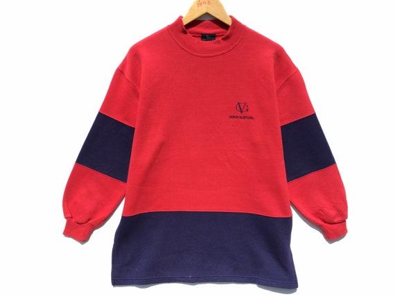 Giorgio Valentino Vintage Sweatshirt Colorblock Si