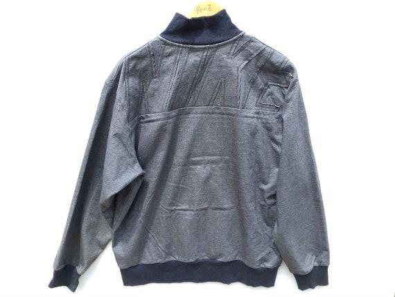 Vintage Nike Sweater Jacket Denim Size XL, Nike Ja