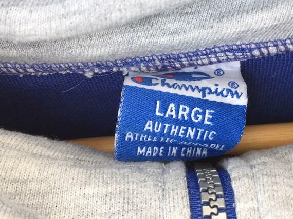 Champion Pullover Sweatshirt Size Large, Champion… - image 4