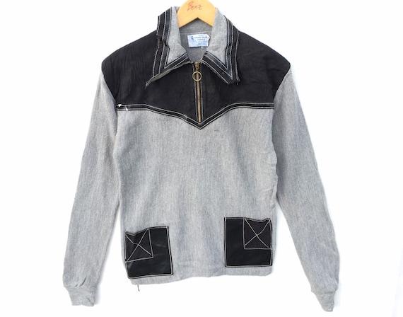 Vintage 70s 80s Sweater Sweatshirt Virgin Orlom Ac