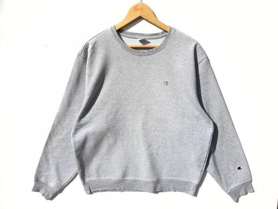 Champion Grey Sweatshirt Size Large, Vintage Sweat