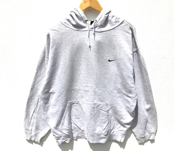 Vintage Nike Hoodie Sweater White Size XL, Nike Ho
