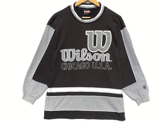 Wilson Vintage Sweatshirt Hip Hop Size Medium, Vin