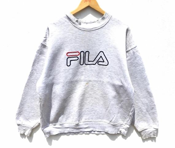 Vintage Fila Sweatshirt Size Medium, Vintage Cloth
