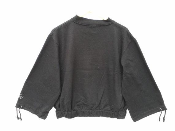 Vintaga Fila Sweatshirt Black Size Medium, Fila J… - image 4