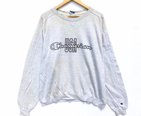 Grey Champion Sweatshirt Size XL, Champion USA, Vi