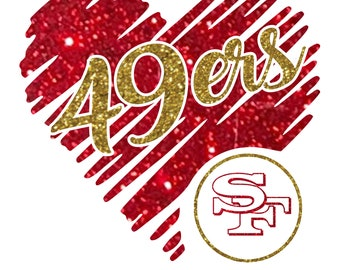 49ers Svg Etsy