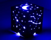 Lightme Stars Starry Sky LED Night Light Projector Moon Lamp Gifts Children Bedroom Lamp Projection Lamp Lantern Shadow Box Centerpiece