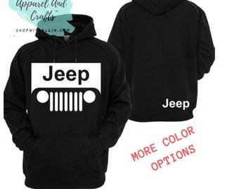 50e813b7f Jeep Fans Unisex Hoodie - Jeep Merch - Unisex Sizing