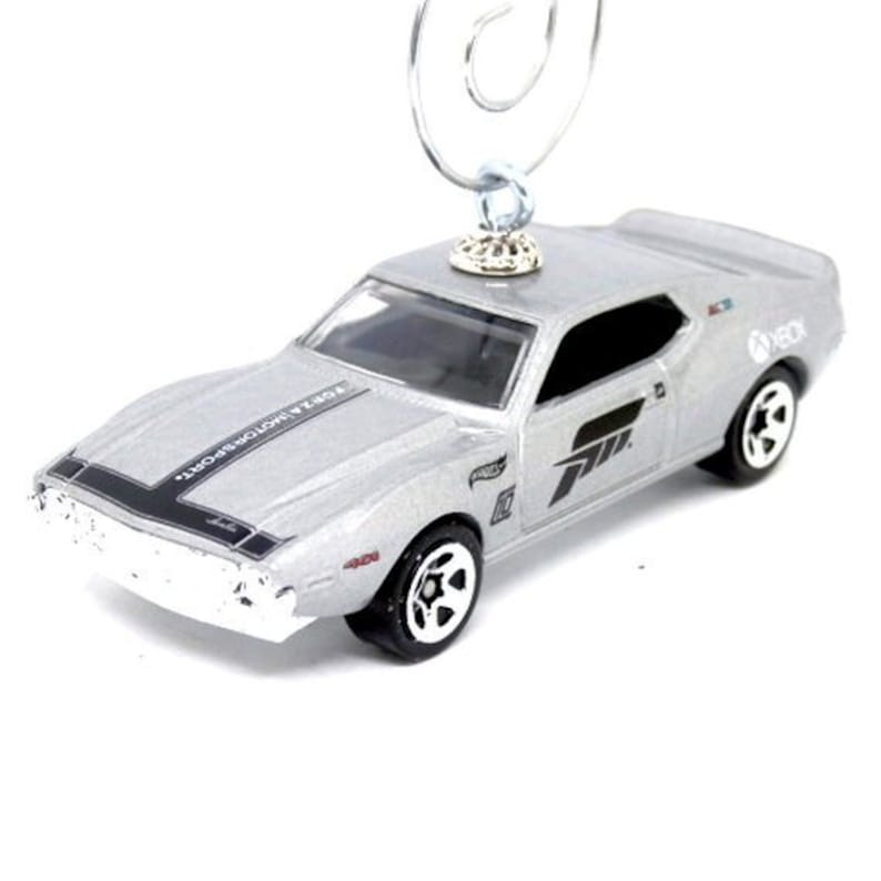 AMC Javelin Car Ornament / AMX / Hot Wheels / Christmas Tree Ornament /  Rear view Mirror / Man Cave decor / Gifts For / MyCarFetish