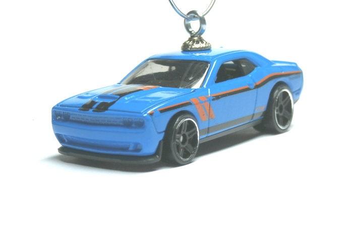 2015 15 Dodge Challenger SRT Car / HellCat / Hot Wheels / Christmas Tree  Ornament / Rear view / Birthday / Gifts For / MyCarFetish