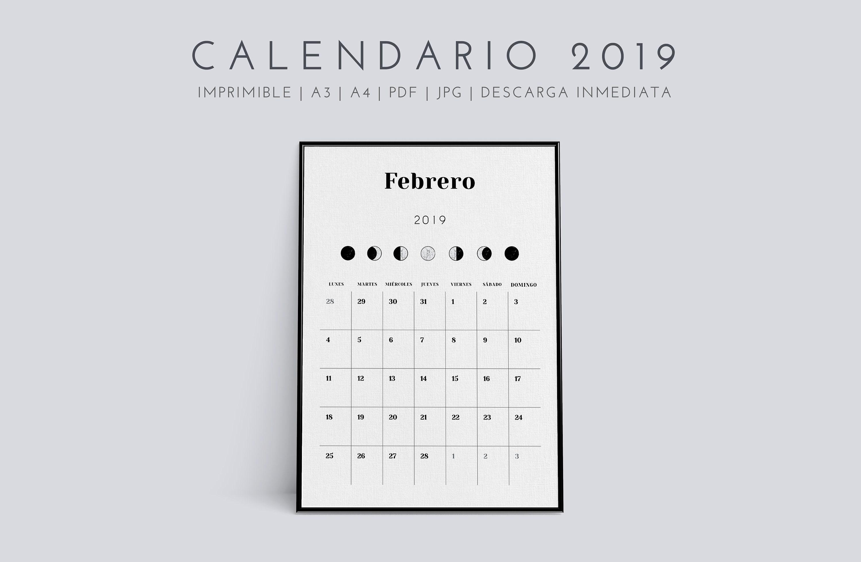 Calendario dieta de la luna 2020