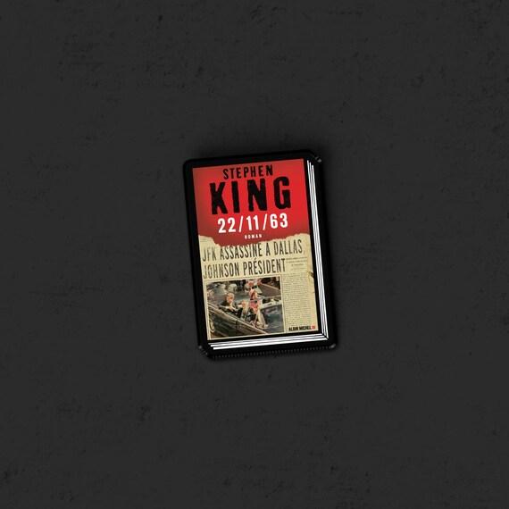 22 11 63 Stephen King Horreur Livre Couverture Pin Broche Halloween Film D Horreur Des Annees 80 Retro Halloween