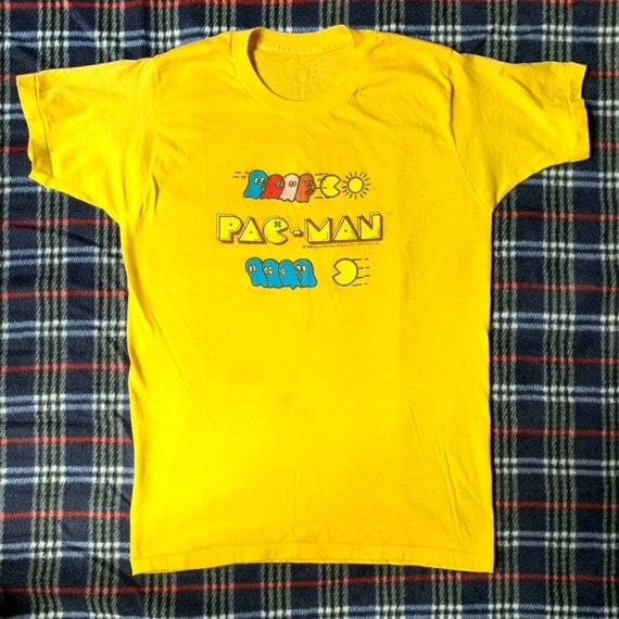 Vintage Pac Man Tshirt 1982 Bally/Midway Mfg. Co.