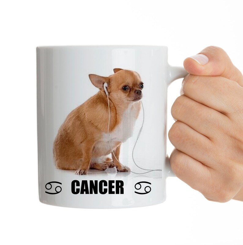 Cancer Mug Zodiac Mug Funny Dogs as Zodiac Signs Coffee Mug Gift Astrology  Gift Astrology Mug Zodiac Gift for Her Gift For Him Cancer Gift