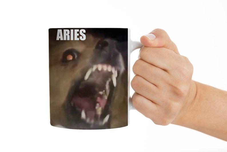 Aries Zodiac Mug Funny Mug Aries Dog Mug Dogs As Zodiac Signs Gift Funny  Gift for her Gift for him Astrology Gift Aries Gift Aries Mug