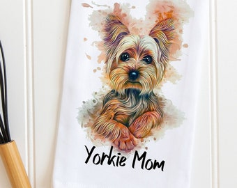 YORKIE pill box compact case portable Yorkshire Terrier travel small gift mom