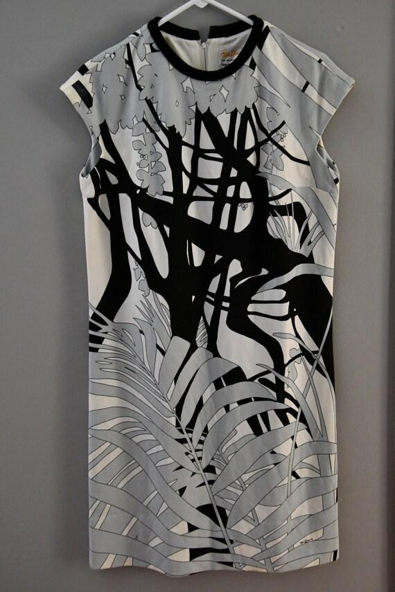 Mr Dino palm print dress (lg/xl)