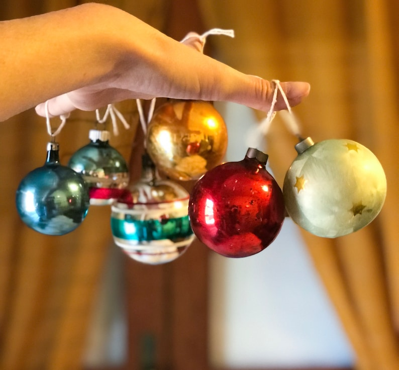 Retro vintage christmas ornament
