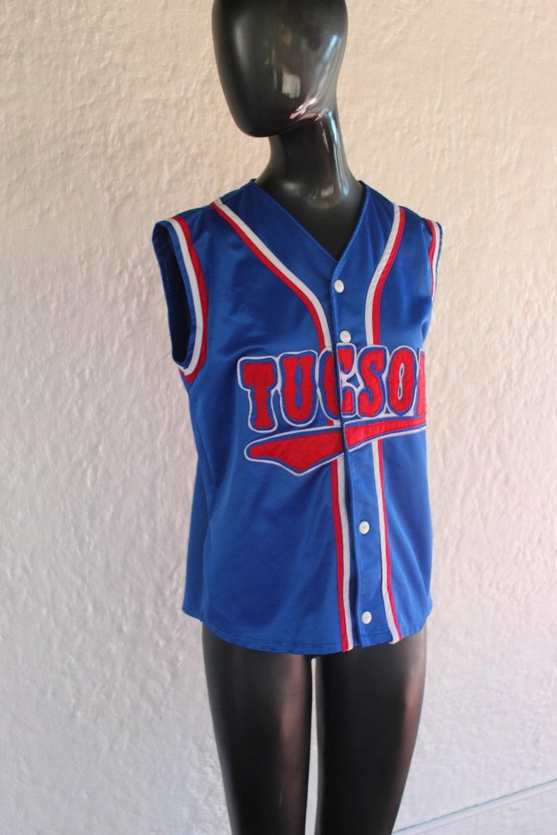 Sleeveless Tucson Jersey Medium Vintage