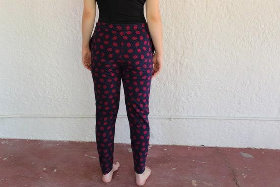 Laura Ashley Cotton Pants/ Large/ 90's Fashion/ V… - image 4