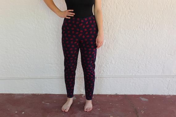 Laura Ashley Cotton Pants/ Large/ 90's Fashion/ V… - image 1