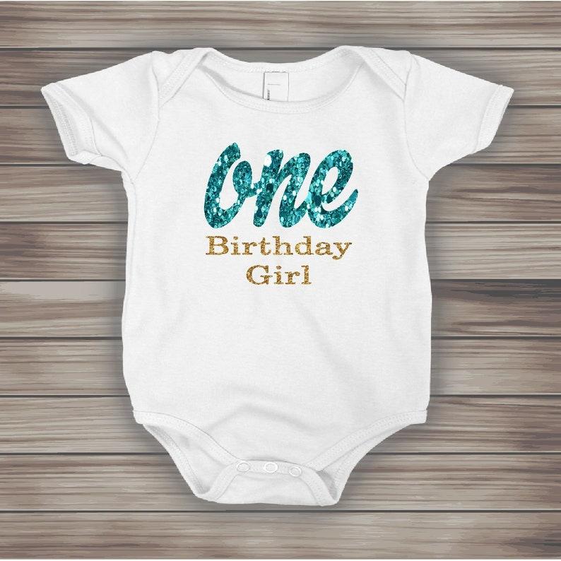 ONE Glitter Onesies FREE SHIPPING,birthday girl gold glitter crown First Birthday Onesie 1ST birthday party,First Birthday Onesies